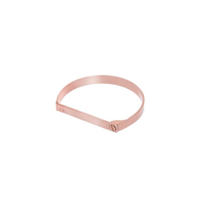 Designer gift for her Opes Robur Rose Go Screw On Love Bracelet