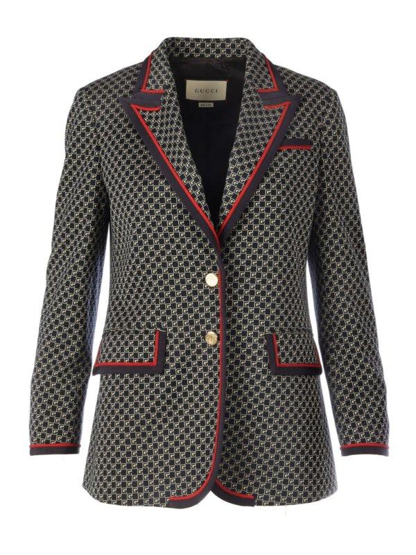 Designer Gucci Womens Blazer