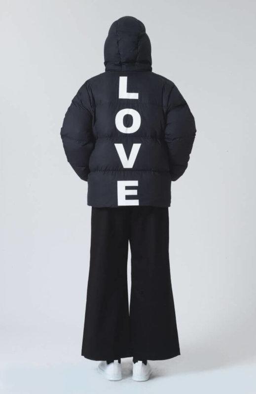 Katherine Hamnett Love Puffer Jacket