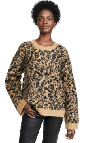 Madewell Leopard Sweater