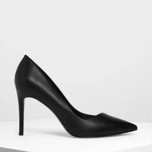 Classic Black Stiletto pumps