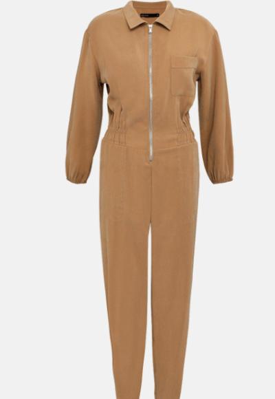 Karen Millen stone utility jumpsuit
