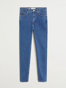 mango high was it skinny noa blue jeans