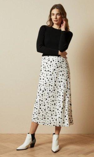 LAIYAH Mockable polka dot dress £169