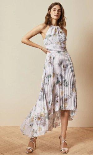 DANIIEY Woodland pleated maxi dress £239