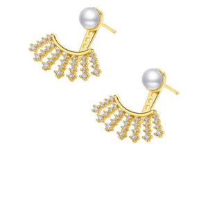 Avilio London twinkle lash stud earrings