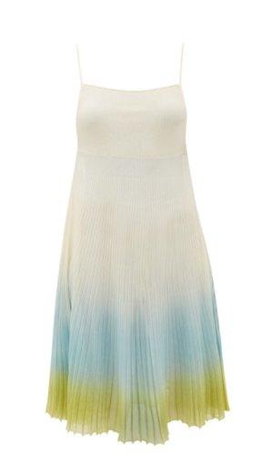 Jacquemus Helado Ombré Cotton-Blend Dress