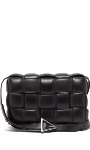 Bottega Veneta - Cassette Intrecciato Leather Cross-body Bag