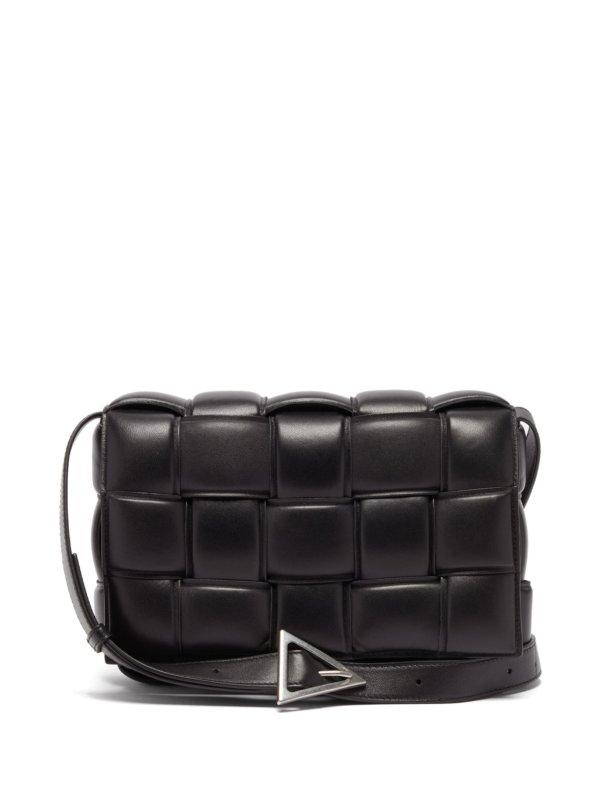 Bottega Veneta - Cassette Intrecciato Leather Cross-body Bag