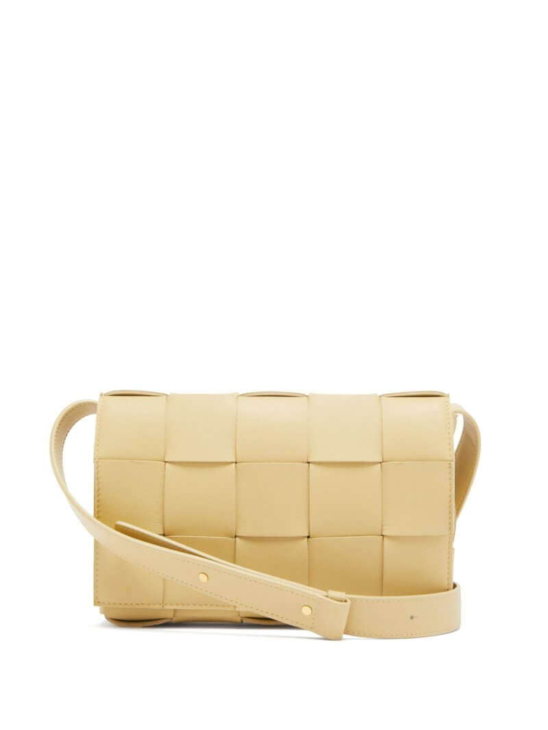 Bottega Veneta - Cassette Small Intrecciato-leather Bag
