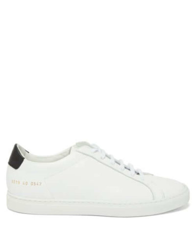 AW20 LFFW COMMON PROJECTS WOMENS BLACK WHITE TRAINER