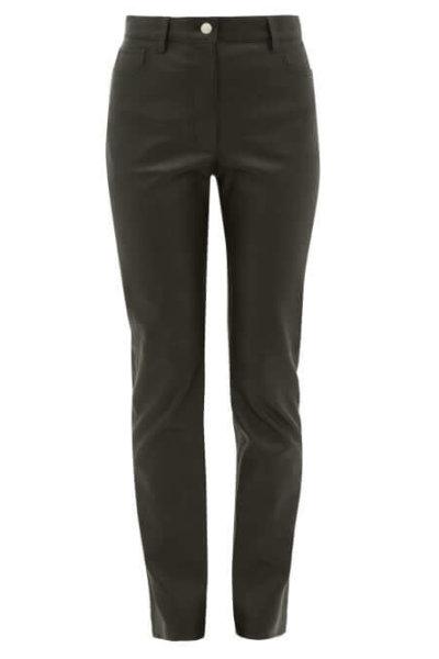 Joseph - Cindy Leather Trousers - Womens - Black