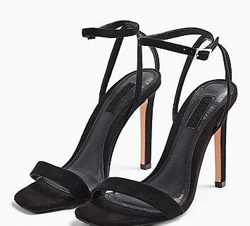 toyshop black heels valentines day outfit idea