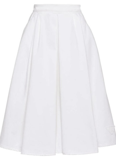 PRADA high-waisted mid-length skirt