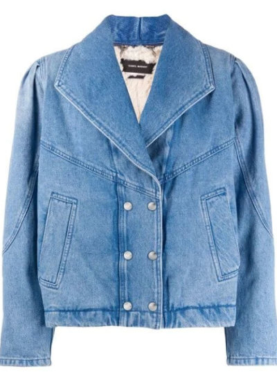 ISABEL MARANT double breasted denim jacket