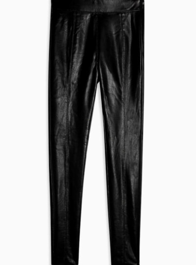 toyshop black faux leather pants valentines day outfit