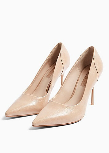 topshop nude heels valentines day outfit