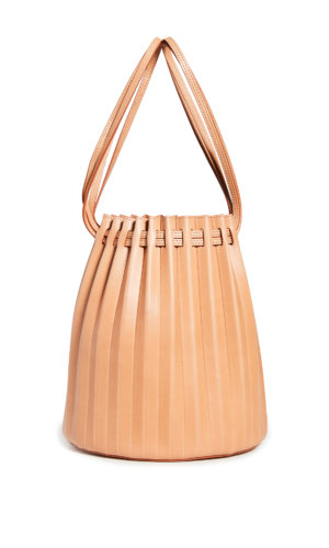 Gavriel Pleated Bucket Bag