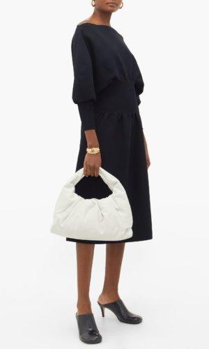 Bottega Veneta - The Shoulder Pouch Small Leather Bag