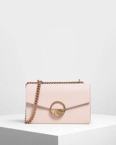 Whistles Pink shoulder bag valentines day outfit