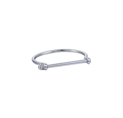 opes robber silver screw cuff