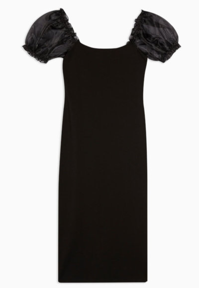 toyshop black body con midi dress