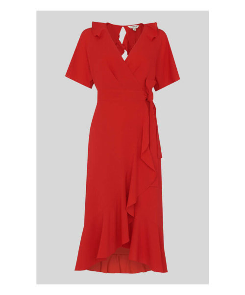 red dress whistles valentines day outfit