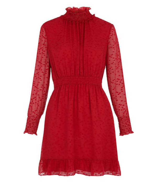 valentines outfit red dress