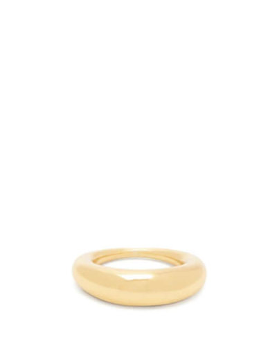 All Blues - Fat Snake Gold-vermeil Ring - Womens - Gold