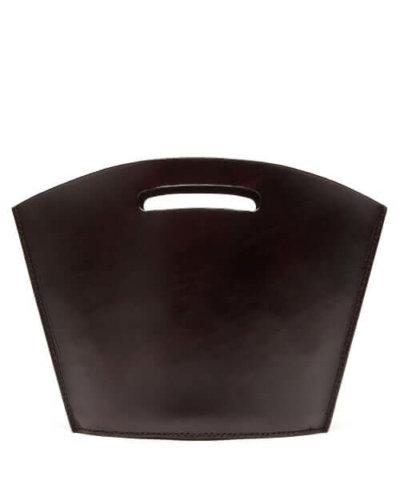 Lauren Manoogian - Baby Barcelona Leather Tote Bag - Womens - Dark Brown