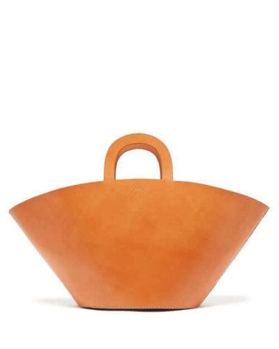 Lauren Manoogian - Barcelona Leather Tote Bag - Womens - Tan