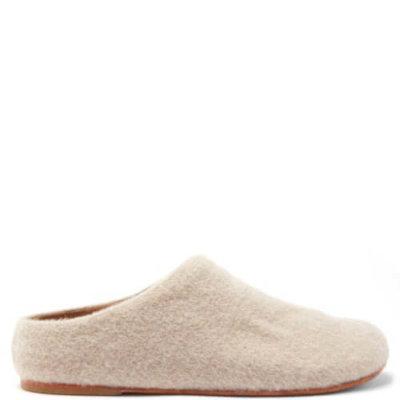 Lauren Manoogian | Mono Alpaca-wool Mules - Beige | £371.0