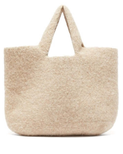 Lauren Manoogian - Oval Knitted Tote - Womens - Beige