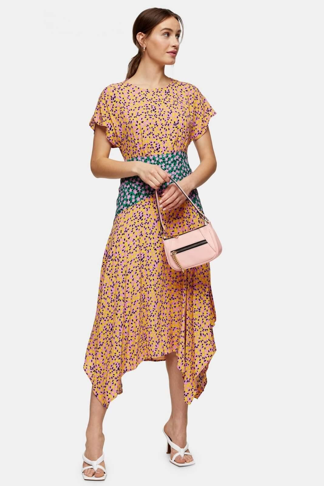 spring essential dress top shop midi dress