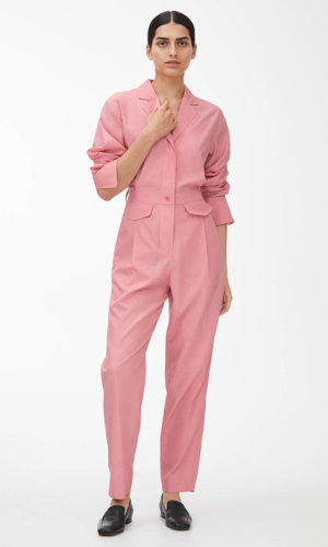 1/4 Cupro-Cotton Jumpsuit