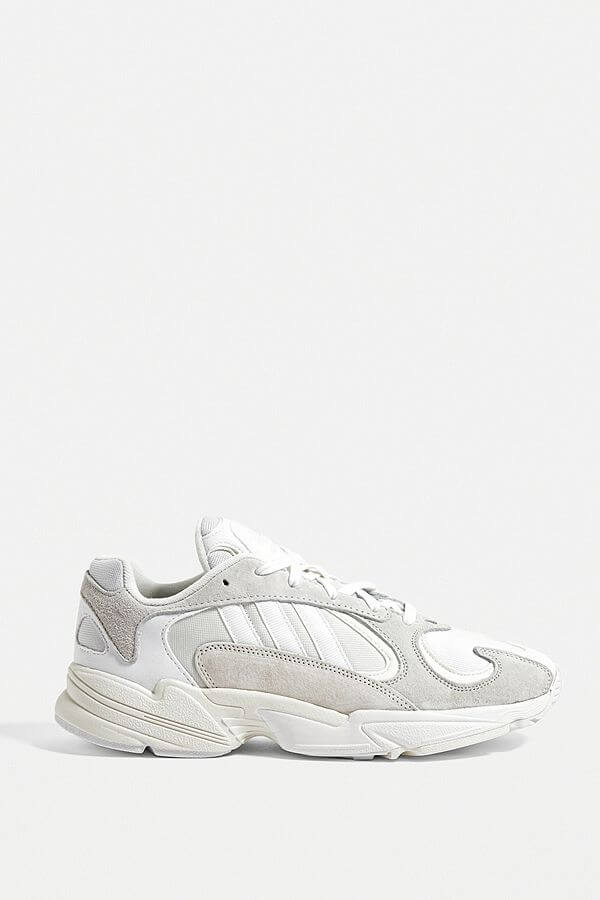 Urban Outfitters adidas Yung-1 White Trainers