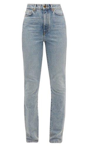 Khaite Kerrie loose-fit jeans