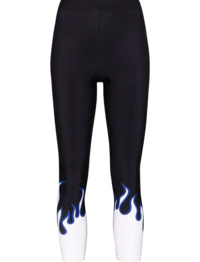 ADAM SELMAN SPORT | printed core sports leggings | £90