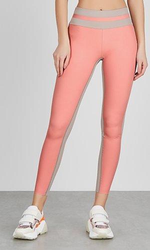 Vaara Flo pink striped leggings