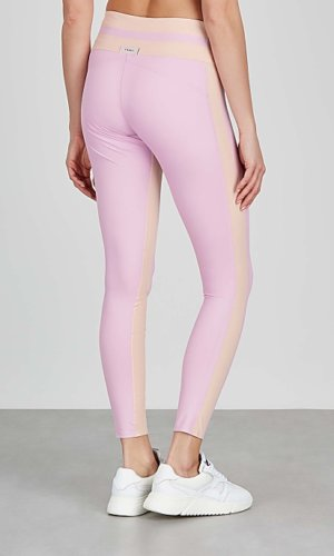 Vaara Flo Tuxedo pink stretch-jersey leggings