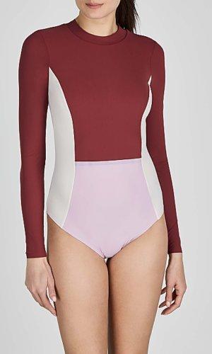 Mara colour-blocked swimsuit