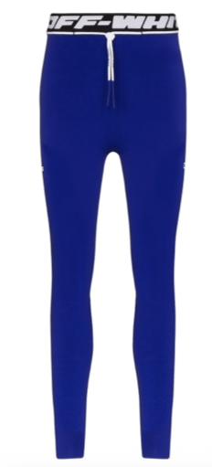 OFF-WHITE active seamless leggings blue