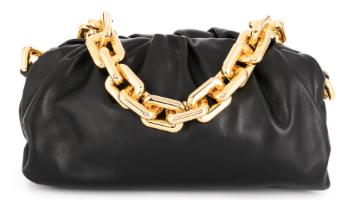 BOTTEGA VENETA chain The Pouch shoulder bag black