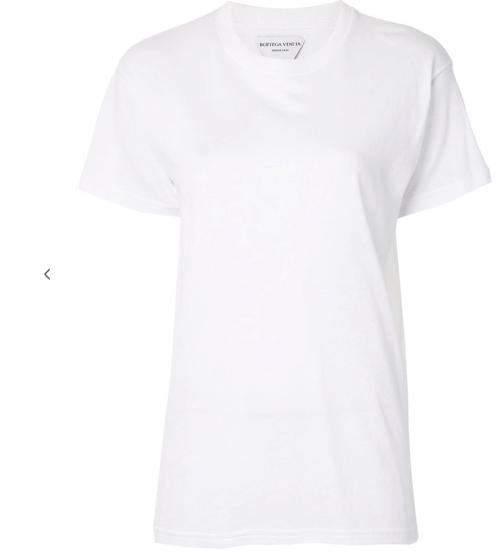 BOTTEGA VENETA round neck T-shirt white