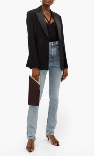 Khaite Kerry scoop-neck bodysuit