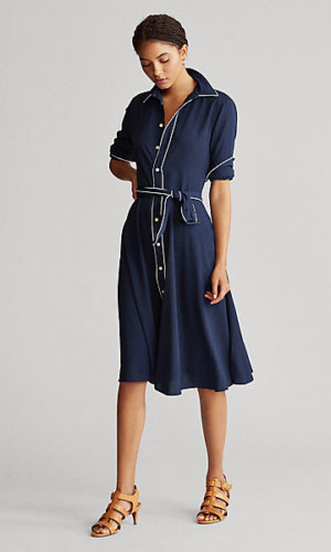 Buckled Shirt dress