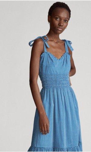 Star Print Cotton Dress