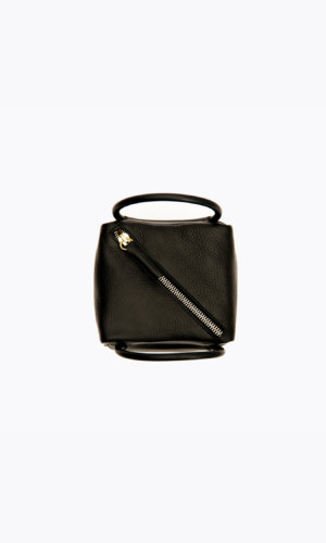 Kikiito Shokupan Mini Black Handbag . With a vintage aesthetic, the Shokupan mini box bag is an instant classic, versatile and utterly wearable day or night. In super soft, luxurious cowhide,