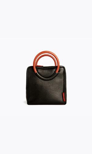 Kikiito Shokupan Black Handbag
