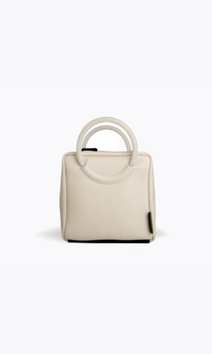 Kikiito Shokupan Ivory Handbag